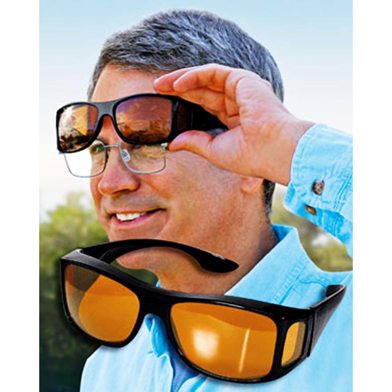 Γυαλιά ηλίου απορροφητικά HD Vision unisex + Γυαλιά νυχτερινής οδήγησης  (σετ 2 τεμαχίων) - Φοριούνται και πάνω απο τα μυωπίας  ΠΡΟΣΦΟΡΑ ΕΒΔΟΜΑΔΟΣ     Γυαλιά 8833ebbe40e