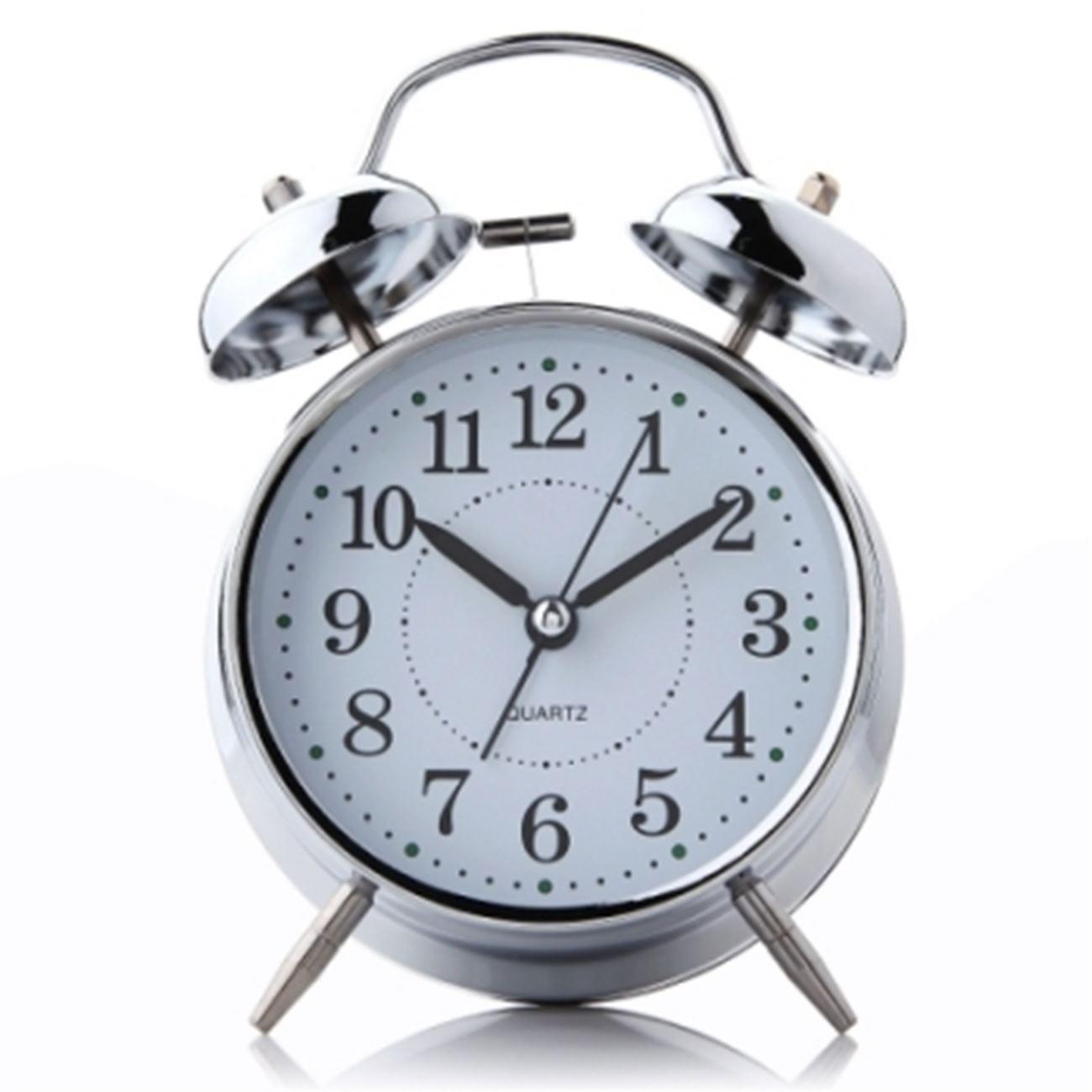 Ξυπνητήρι επιτραπέζιο κουρδιστό αντίκα με μηχανικό κουδούνισμα   Ρολόγια  επιτραπέζια  619b3653bf7