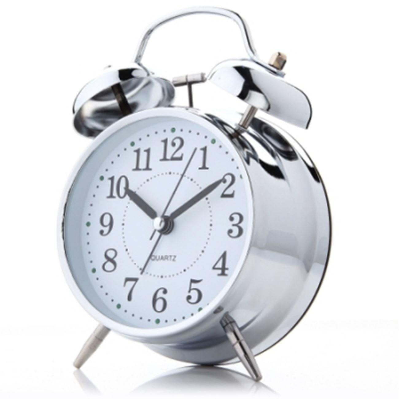 Ξυπνητήρι αντίκα μπαταρίας με φως και μηχανικο κουδούνισμα   Ρολόγια ... 4d470b70b0d